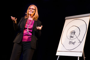 "Birgitta Sjöstrand talks about the importance of ""why"""